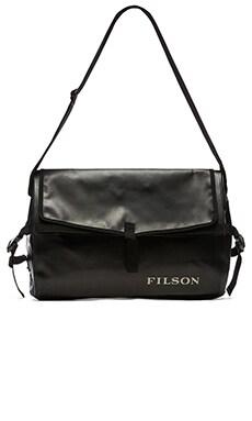 Filson Dry Messenger Bag in Black