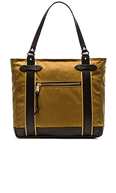 Filson Meridian Tote in Dark Tan