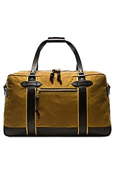 Filson Meridian Duffle in Dark Tan