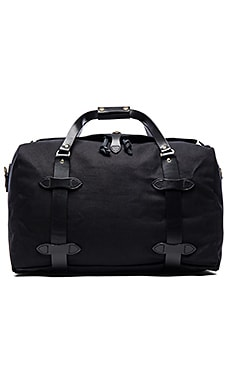 Filson Medium Duffle in Black