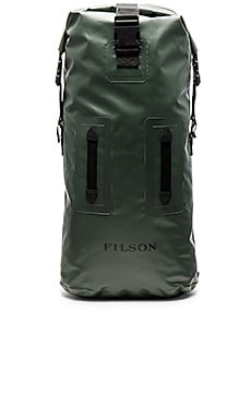 Filson Dry Duffle Backpack in Green