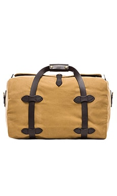 Filson Small Duffle in Dark Tan