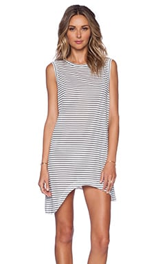 Finders Keepers Hold Up Tank Dress in Stripe Print