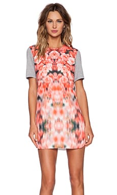 Finders Keepers Stolen Chance Tshirt Dress in Blurred Floral