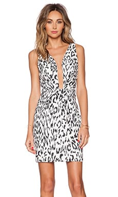 Finders Keepers The Creator Dress in White Leopard