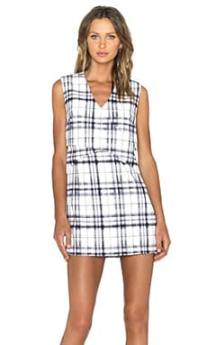 Finders Keepers Life & Times Dress in Tartan Light