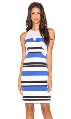 Finders Keepers Nothing To Lose Dress in Light Stripe