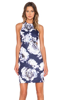 Finders Keepers Atlas Dress in Floral Dark