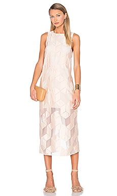 Finders Keepers Insomnia Dress in Nude Cube