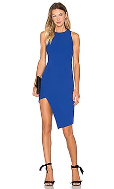 Finders Keepers Hold Us Dress in Cobalt