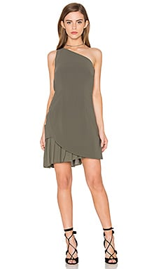 The Divide Dress in Khaki