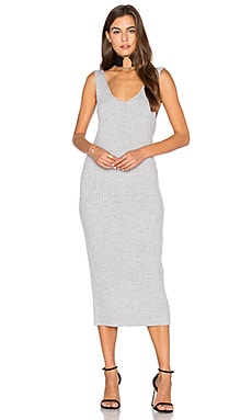 Prime Time Maxi Dress in Grey Marle