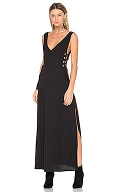 Amos Dress in Black