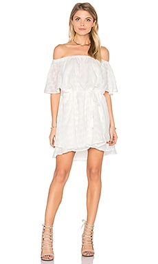 Ascot Ruffle Dress in Cloud