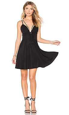 Addison Dress in Schwarz