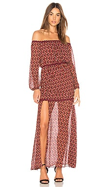 Drift Off the Shoulder Maxi Dress Finders Keepers $137