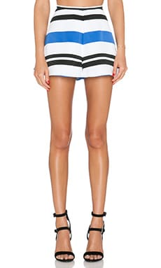 Finders Keepers Midnight Lover Shorts in Light Stripe