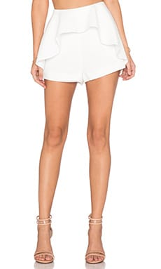Finders Keepers Speakerbox Short in White