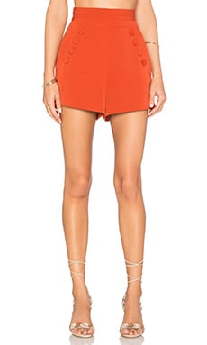 Finders Keepers High Sea Short in Burnt Orange