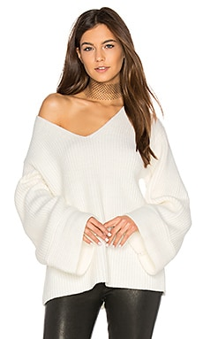 Frederick Flare Sleeve Knit in Cloud