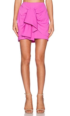 Finders Keepers Earthly Treasures Skirt in Bright Fuchsia
