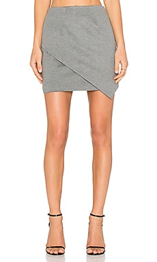 For Now Skirt in Charcoal