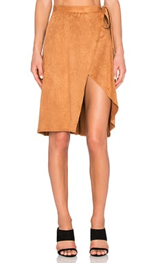 Finders Keepers High Time Skirt in Tan