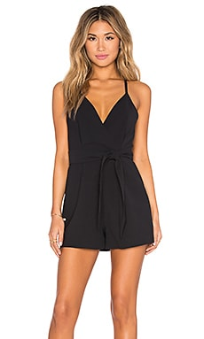 Blow Your Mind Romper in Black