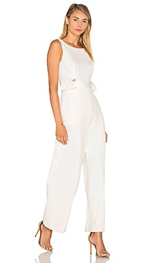 Finders Keepers The Moment Jumpsuit in White