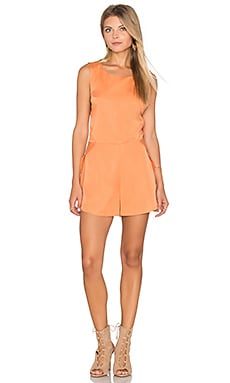 The Prelude Romper en Burnt Peach