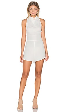 Great Heights Romper in Cloud