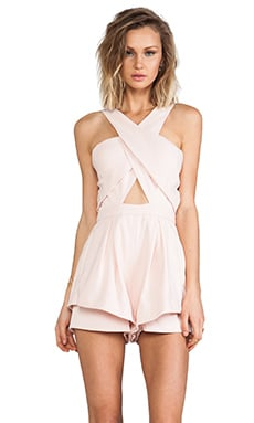 Like Smoke Playsuit in Blush