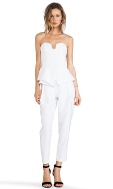 Finders Keepers Rainfall Jumpsuit in Ivory