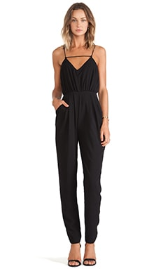 Finders Keepers The Someday Jumpsuit in Black