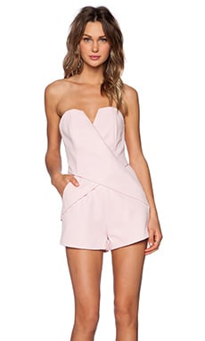 Finders Keepers Inbetween Days Romper in Blushing Bride