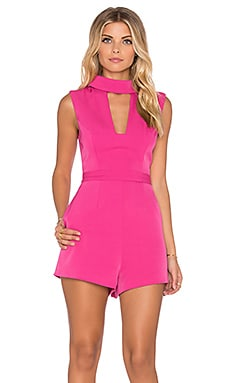 Finders Keepers Divine Eternal Playsuit in Rose
