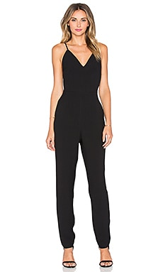 Stand Still Jumpsuit in Black