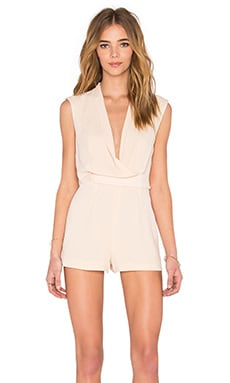 Dreaming Of You Playsuit in Beige