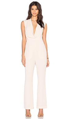Finders Keepers Dreaming Of You Jumpsuit in Beige
