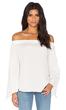 Bright Lights Top in White