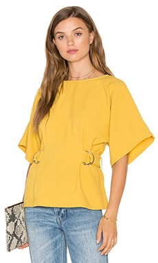 Finders Keepers Dissolve Top in Chartreuse