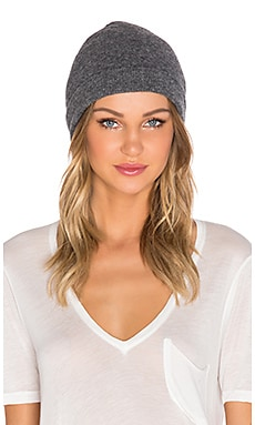 Fine Collection Beanie in Heather Anthracite