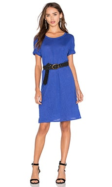 Fine Collection Shirt Dress in Blue