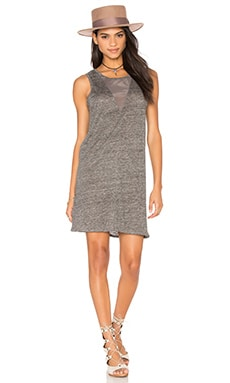 Fine Collection Tank Dress in Salt, Pepper & Grey