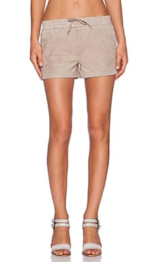 Fine Collection Short in Taupe