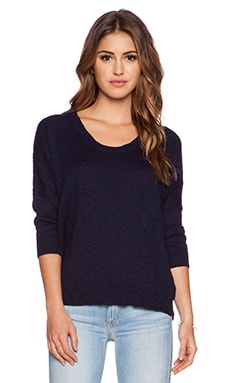 Fine Collection Sweater in Navy