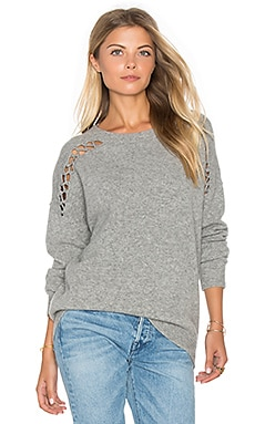 Joe Lace Up Sweater