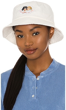 Icon Angels Bucket Hat FIORUCCI $55 NEW