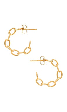 Mariah Hoop Earrings Five and Two $37 BEST SELLER