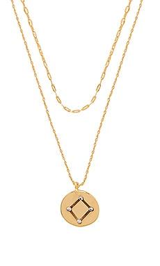 Фото - Ожерелье orion - Five and Two цвет металлический золотой